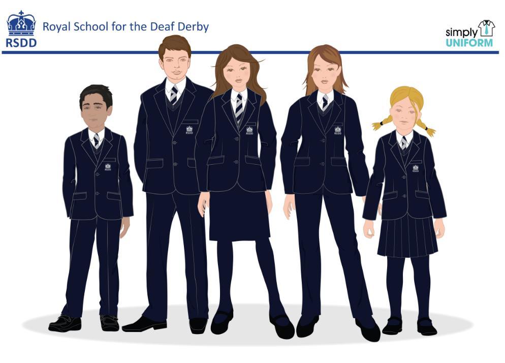 Uniform people